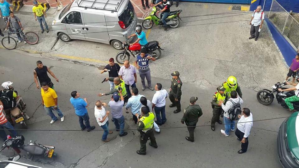 Trabajadores de Sintraemcali denuncian agresión de la policía