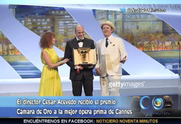 Director caleño ganó premio en el Festival de Cannes