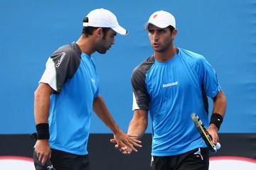 Juan Sebastián Caba y Roberth Farah eliminados de dobles en Roland Garros