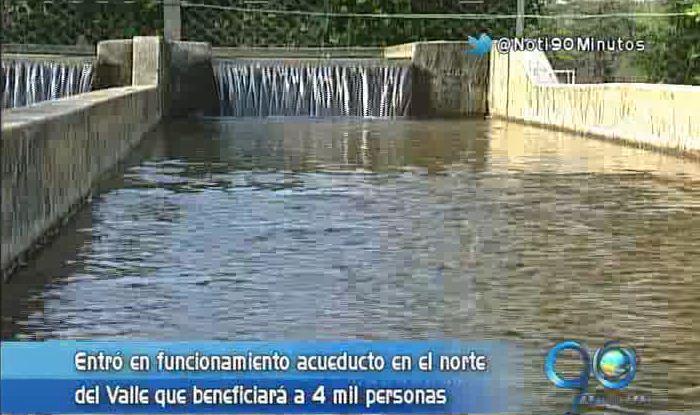 El norte del Valle ahora cuenta con nuevo acueducto