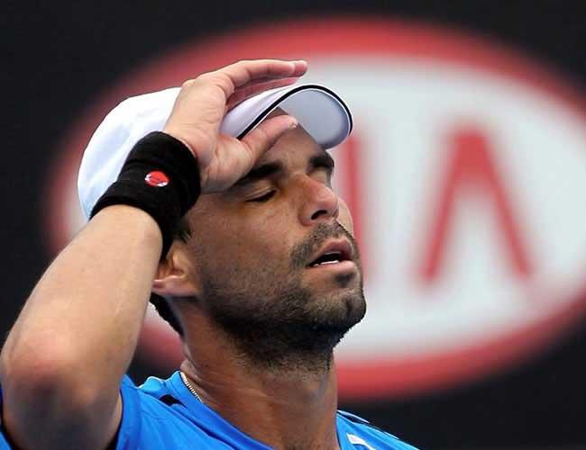 Alejandro Falla fue eliminado de Roland Garros por Roger Federer