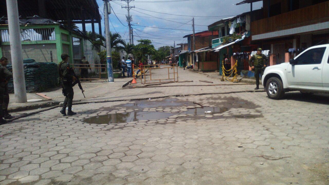 Farc perpetró nuevo atentado en Tumaco