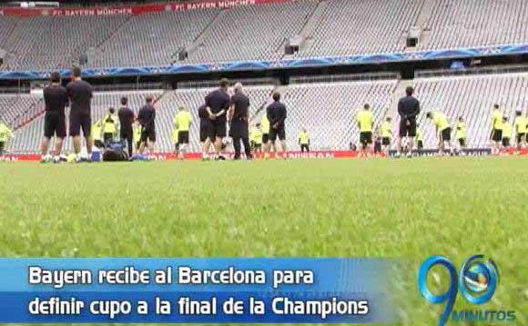 Bayern saldrá por un milagro cuando reciba a Barcelona