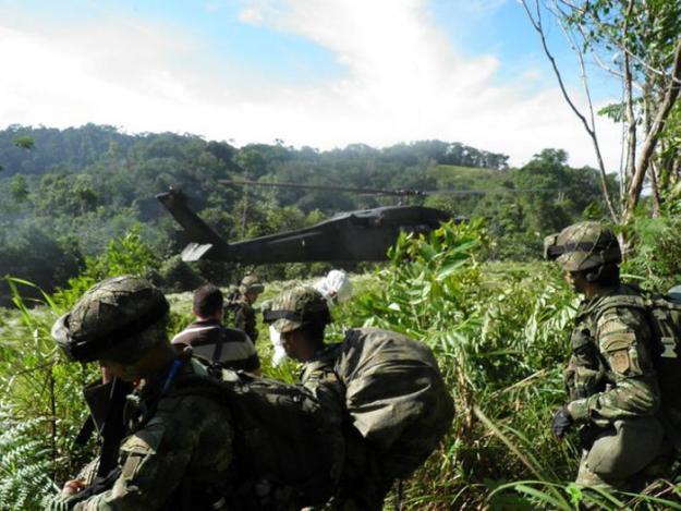 Identificación de guerrilleros muertos en Guapi empezaría hoy