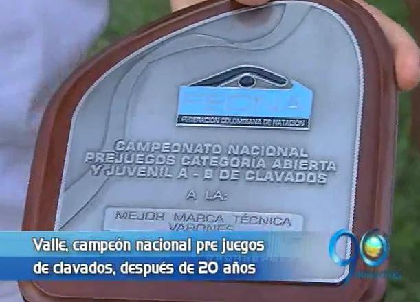 Selección Valle de clavados ganó después de 20 años el Campeonato Nacional