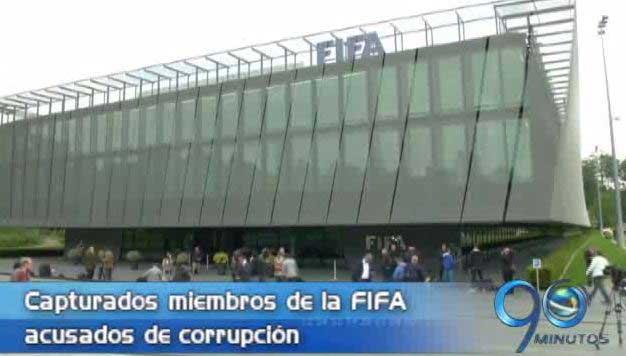 Capturados integrantes de la Fifa por corrupción en Suiza