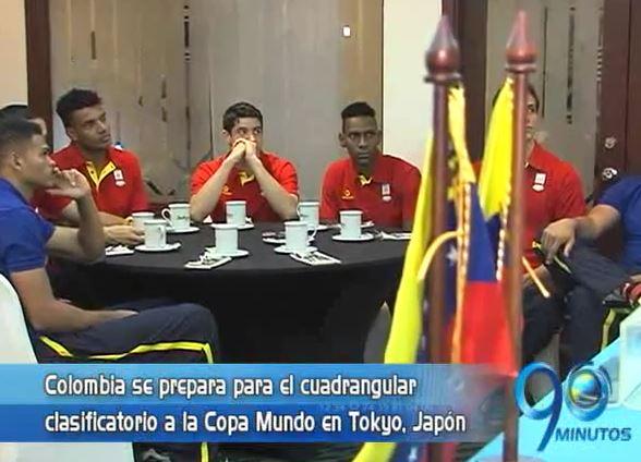 Colombia se prepara para el cuadrangular clasificatorio del Mundial de Voleibol
