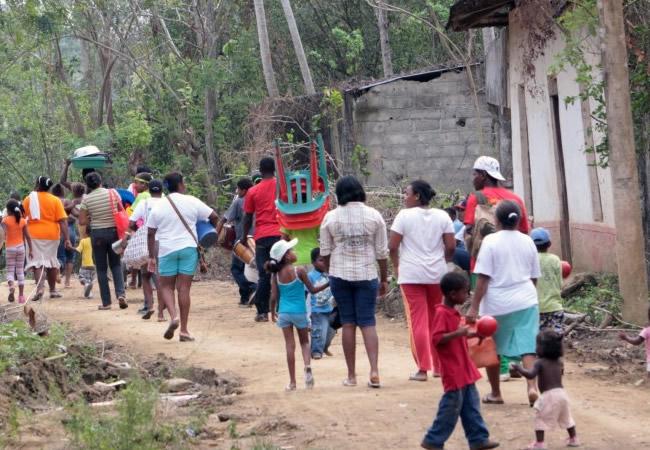 Aumenta el número de desplazados en Guapi, Cauca