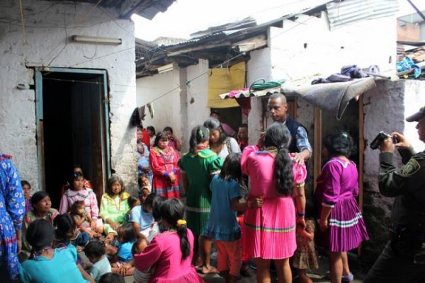 Embera katío regresaron a Pueblo Rico, Risaralda