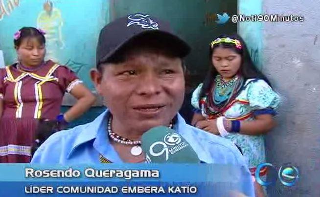 Los Embera katío se despidieron de Cali con varios recuerdos