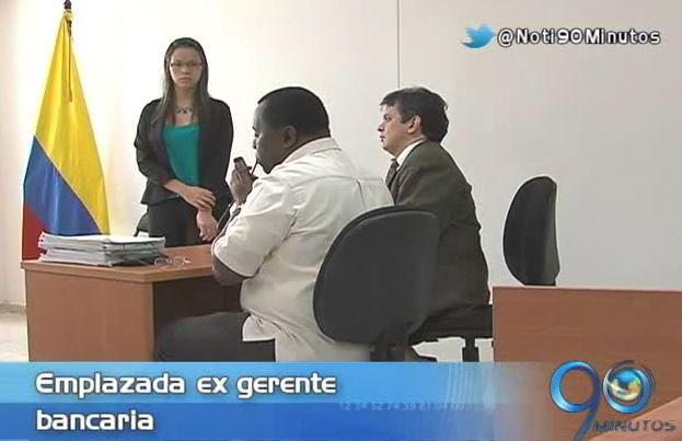 Juez emplaza a ex gerente bancaria por presunto delito de estafa