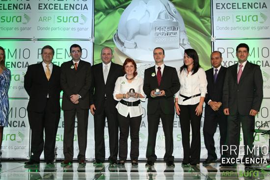 Empresas vallecaucanas, premiadas por gestión en riesgos laborales