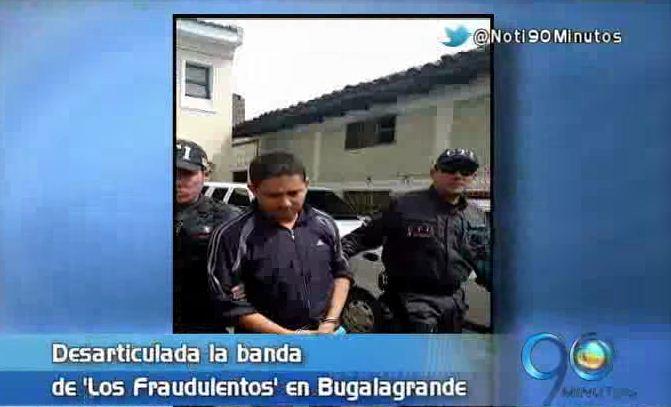 Desarticulan la banda 'Los Fraudulentos' que operaba en el centro del Valle