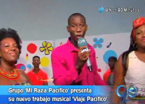 Grupo Mi Raza Pacífico presentó su nuevo trabajo musical