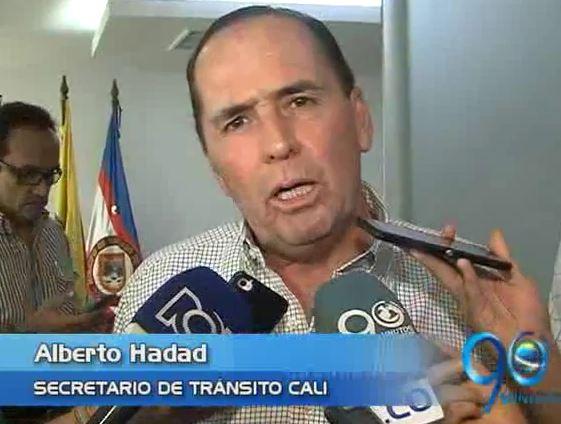 Alberto Hadad se posesionó como secretario de Tránsito y Transporte de Cali