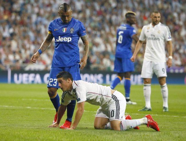 James Rodríguez y el Real Madrid se quedaron sin Champions