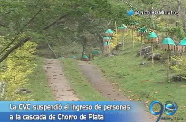 CVC suspendió ingreso de visitantes a balneario en Pance