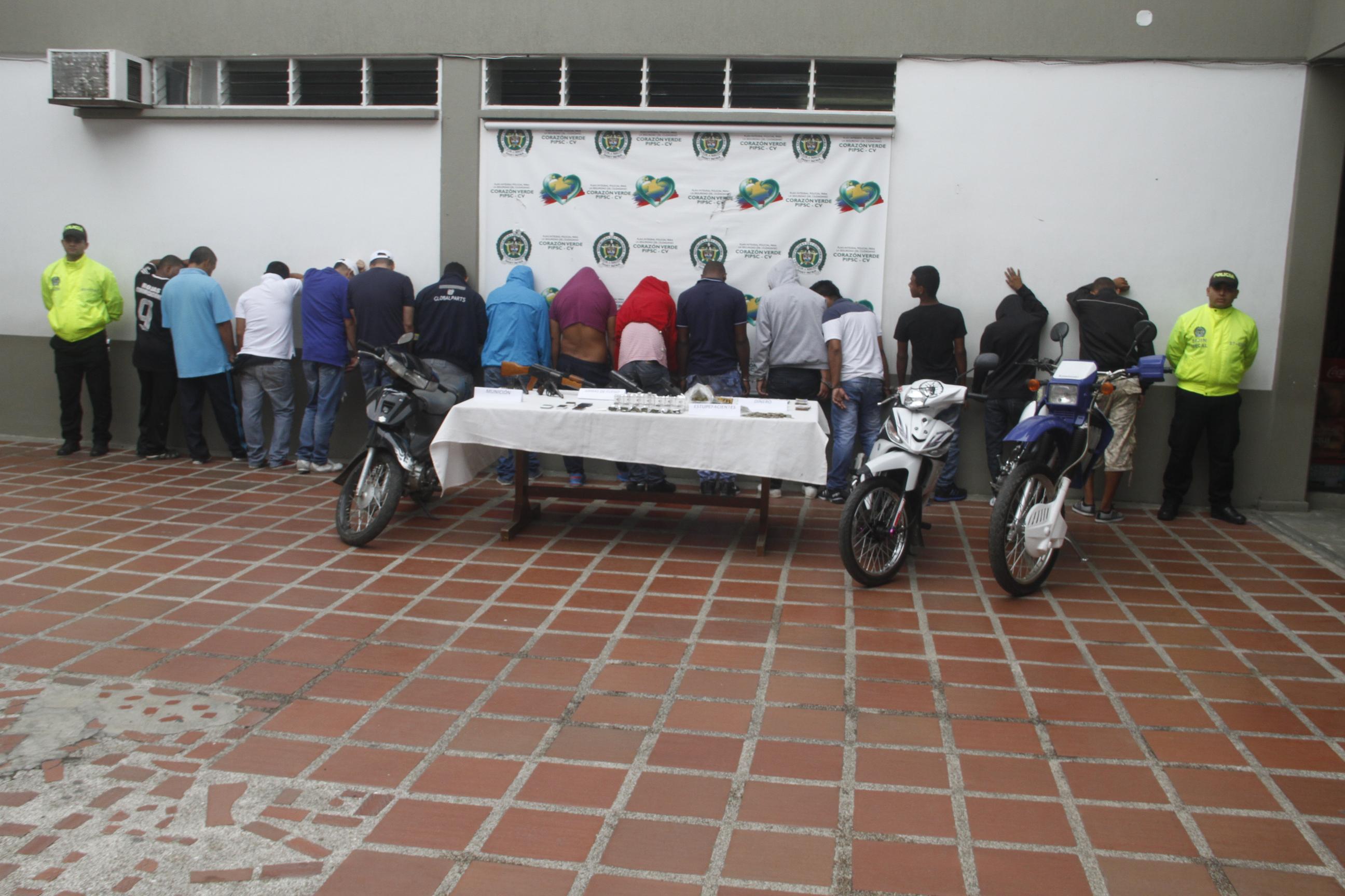 Policía desarticula a presunta banda sicarial 'Los Ciro' en Jamundí