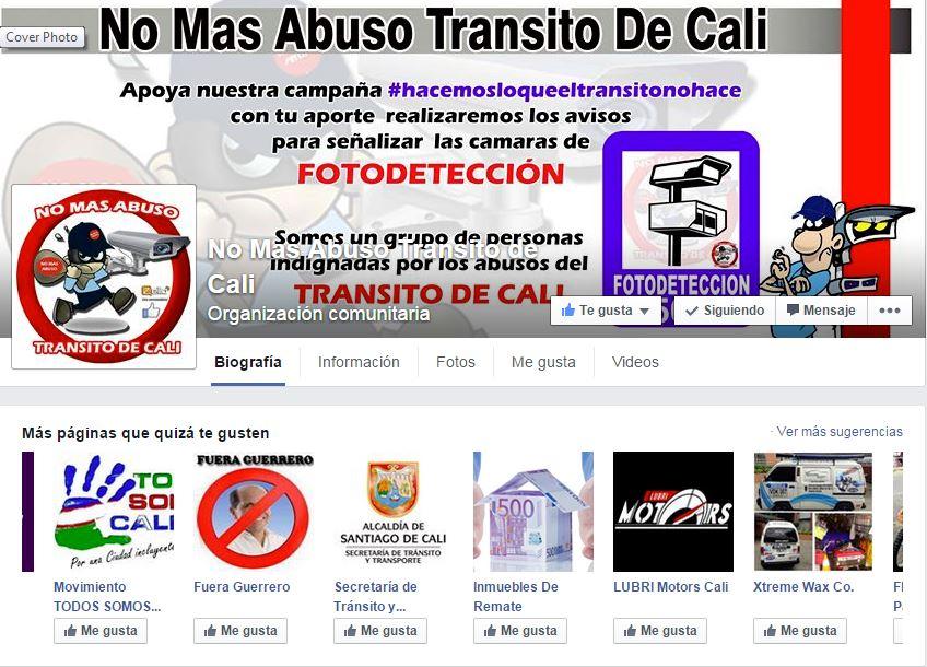 Tutela ordena a usuario de facebook eliminar mensajes ofensivos contra el tránsito