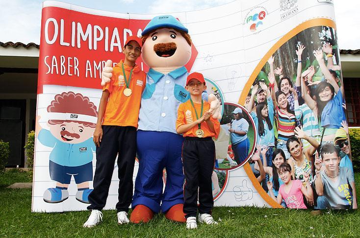 Niños de Cali participaron de las Olimpiadas del Saber Ambiental