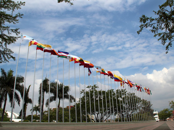 Riña en Parque de las Banderas deja 10 heridos