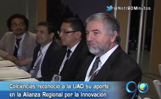 La Uao recibió premio de Colciencias por su aporte en la innovación