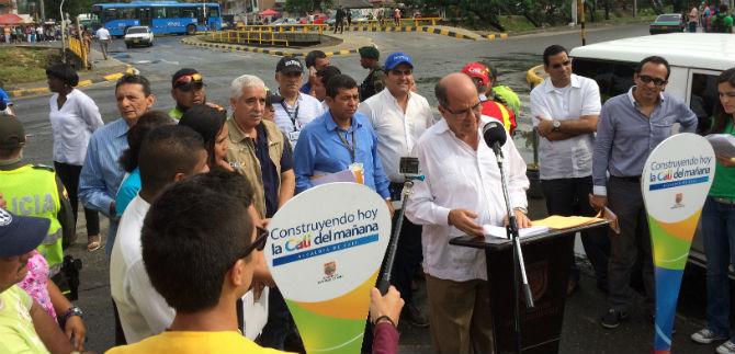 Guerrero visitó la comuna 14 y realizó un balance de los proyectos en la zona