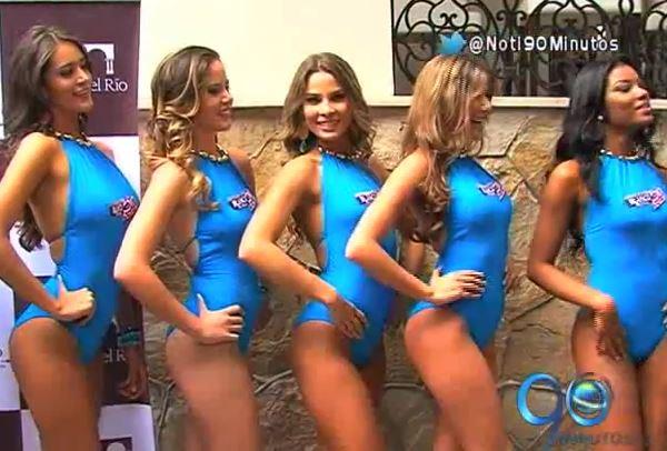 Candidatas a Señorita Valle desfilaron en vestido de baño