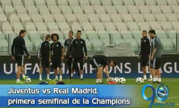 Juventus y Real Madrid jugarán en el primer duelo de las semifinales