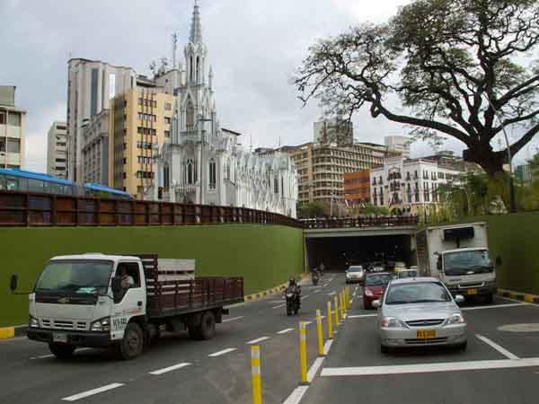 Túnel de la Avenida Colombia fue reabierto tras falsa alarma
