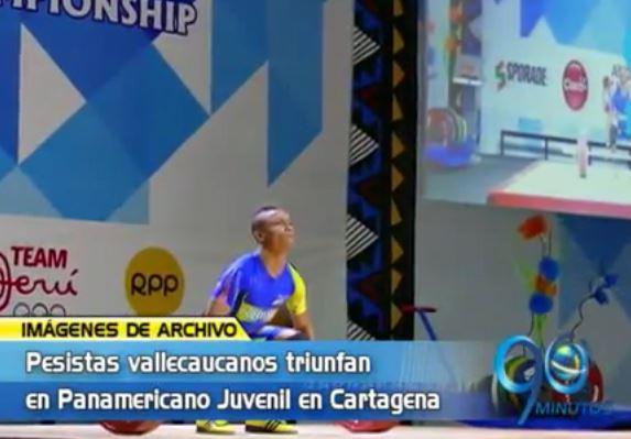 Yumbeño, Luis Javier Mosquera marcó un nuevo récord en las pesas