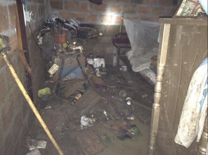 Fuerte vendaval dejó más de 13 viviendas afectadas en Yumbo