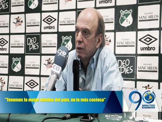 """""""Tenemos la mejor nómina del país, no la más costosa"""": Álvaro Martínez"""
