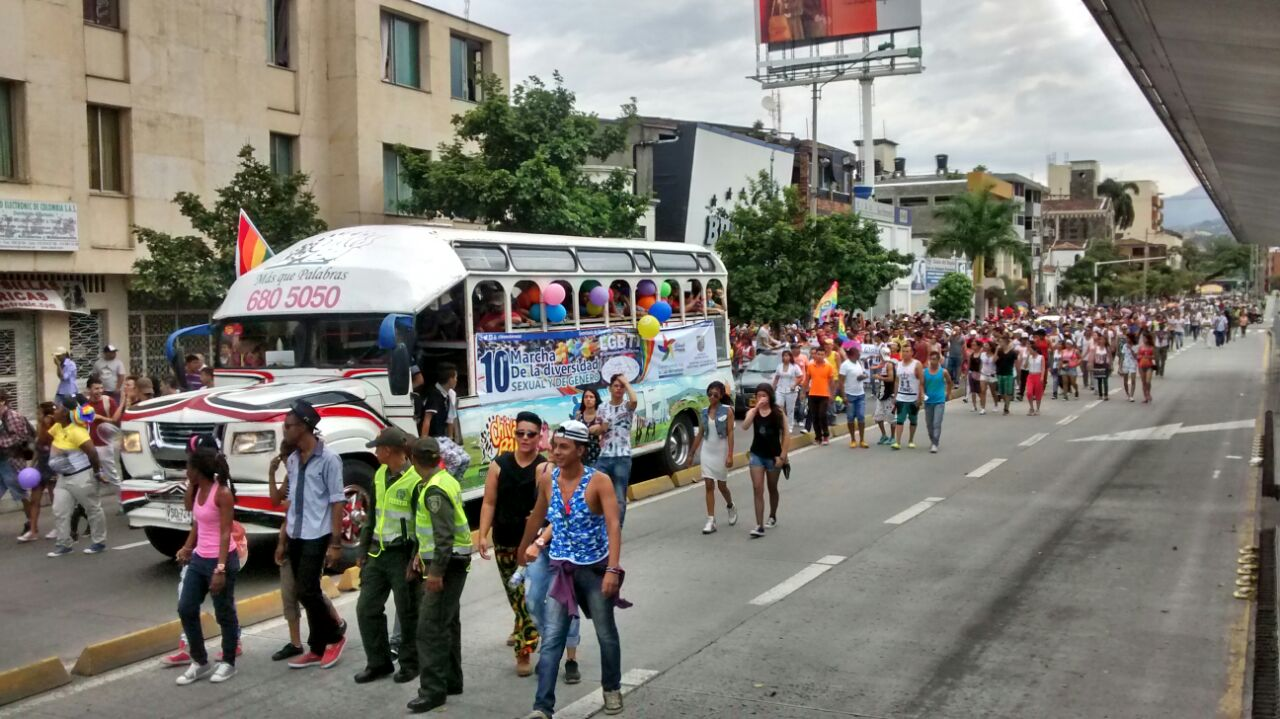Marcha por la Diversidad Sexual y de Género en Cali