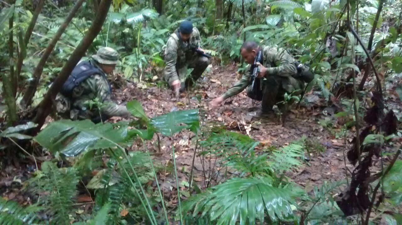 Armada nacional incauta armamento de las Farc en el Chocó
