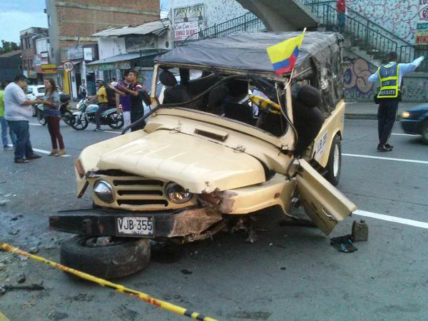 Accidente de una guala dejó 8 personas heridas