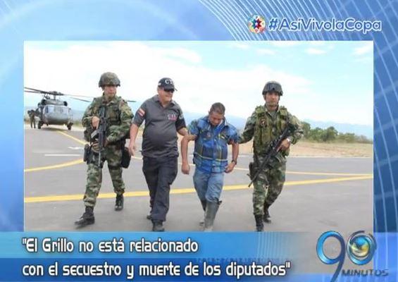 Desmienten que captura de 'El Grillo' sea por muerte de diputados del Valle