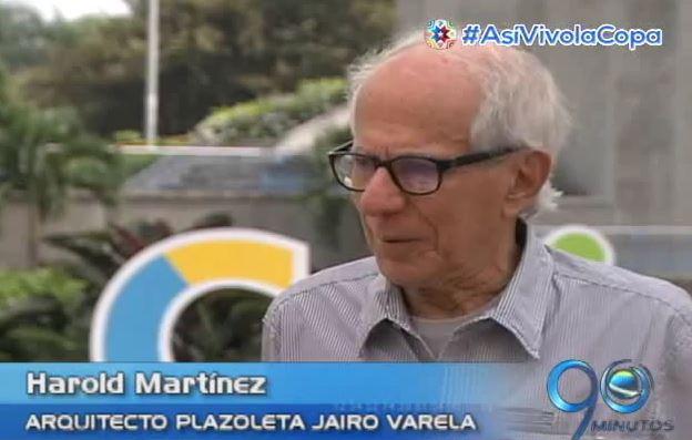 Diseño de la Plazoleta Jairo Varela, reconocida internacionalmente