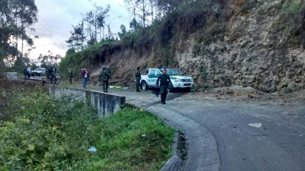 Un Coronel de la Policía muerto tras atentado en Nariño