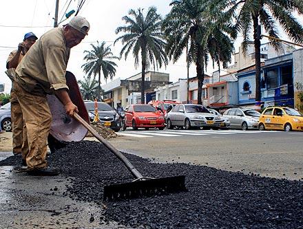 """Plan Bacheo"" ha reparado 500 mil metros cuadrados de huecos"