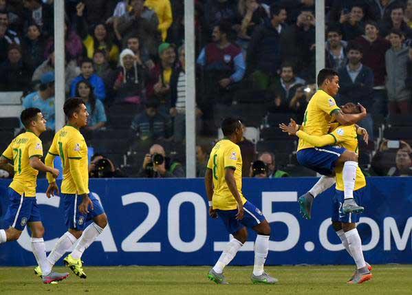 Brasil venció a Venezuela, la eliminó y clasificó a Colombia