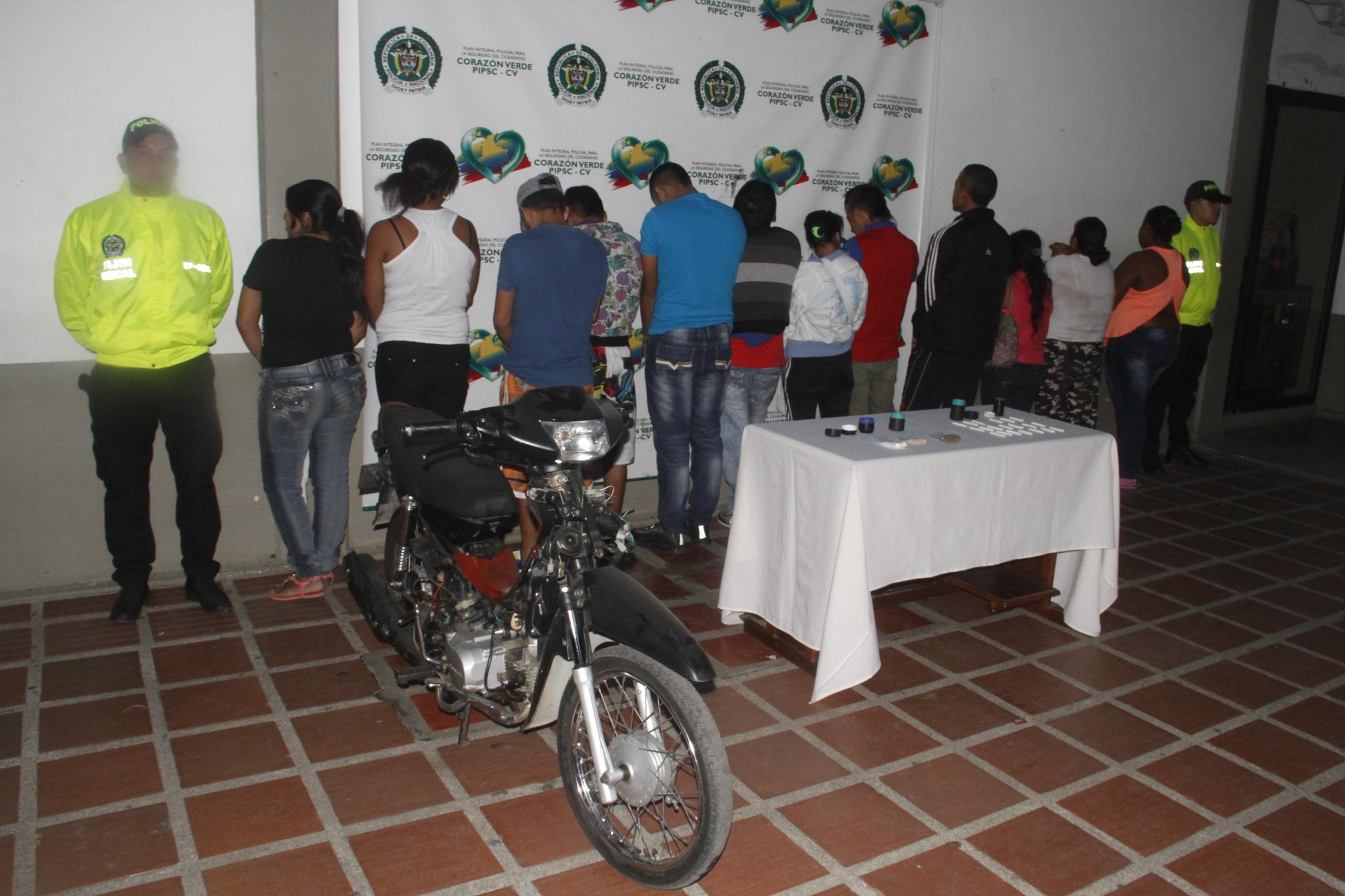 Desarticulan dos bandas delincuenciales dedicadas al tráfico de estupefacientes