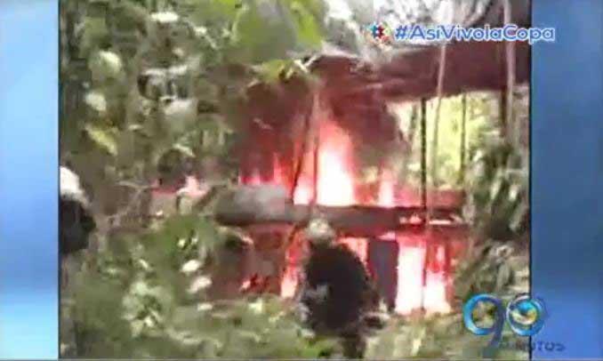 Autoridades desmantelan complejo cocalero en zona rural de Buenaventura
