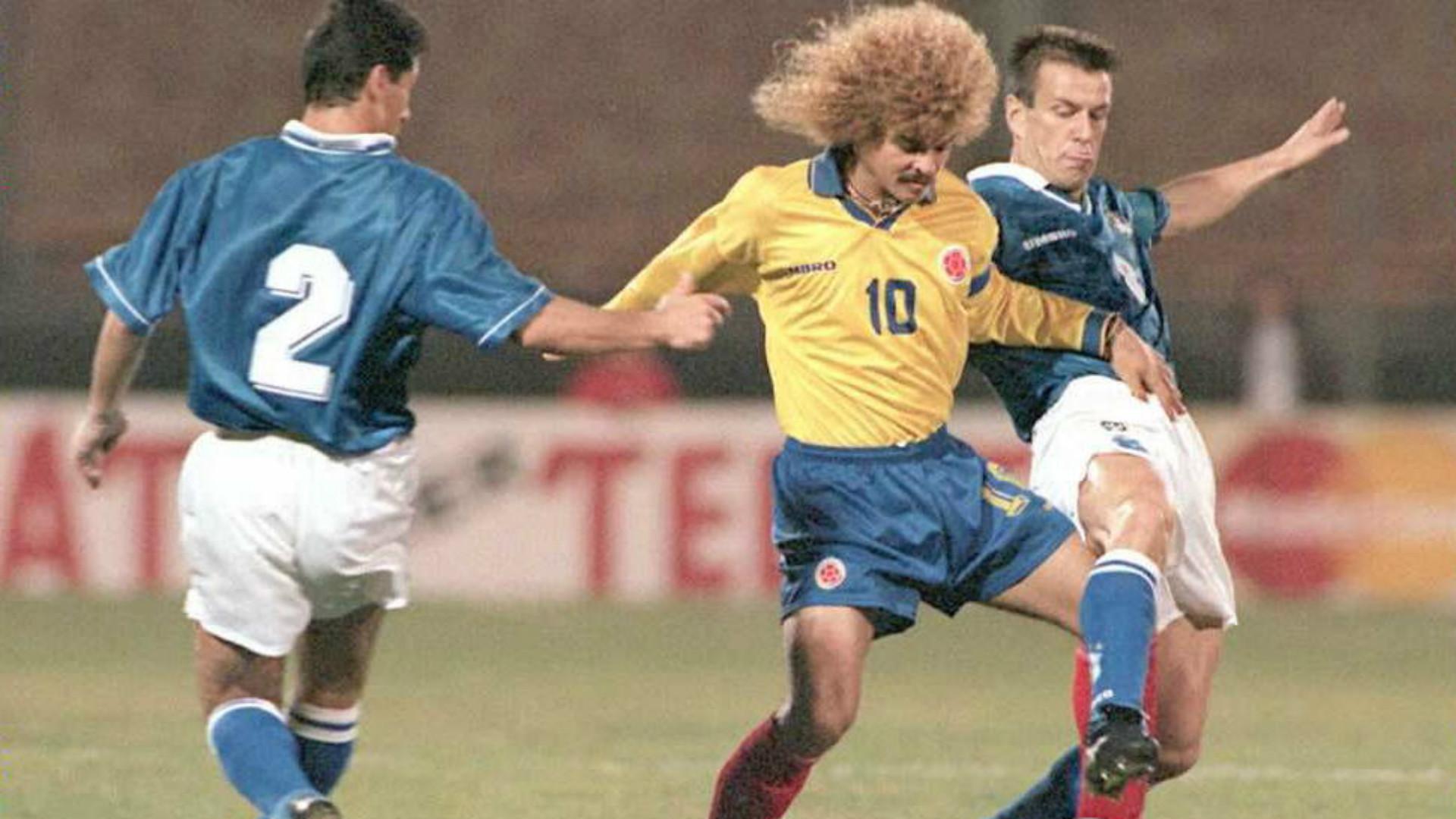 Hace 24 años, Colombia le ganó por primera vez a Brasil