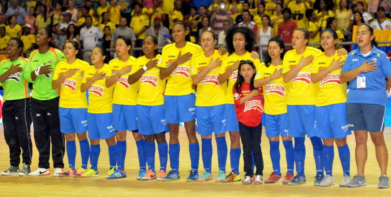 Colombia femenina a un solo punto de clasificar en el Suramericano