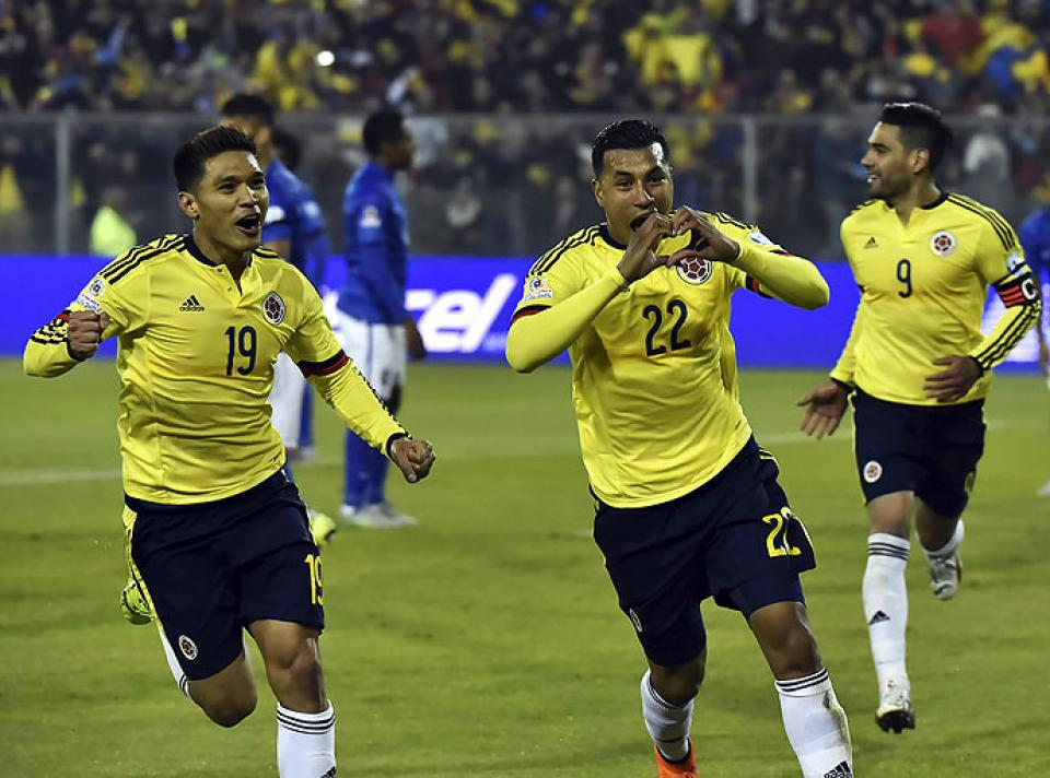 Colombia logró una merecida victoria 1- 0 ante Brasil