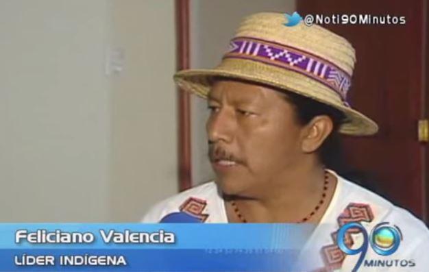 Líder indígena Feliciano Valencia se defiende de acusaciones en su contra