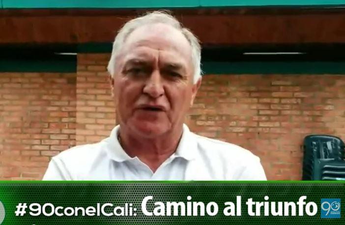 El mensaje de Fernando 'Pecoso' Castro a los hinchas del Deportivo Cali