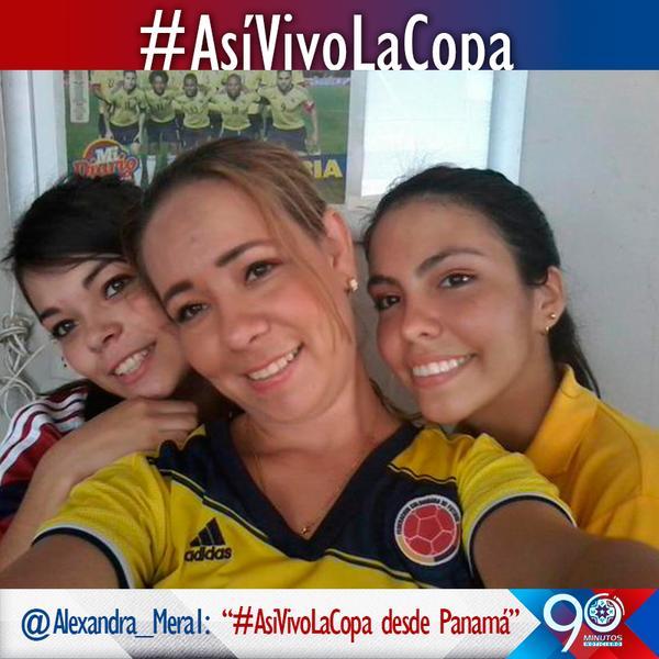 Algunas imágenes de nuestros tuiteros en #AsíVivolaCopa