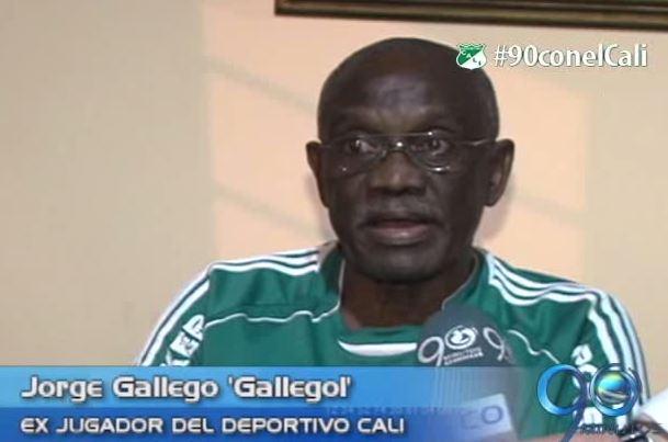 El exgoleador del Cali Jorge Gallego 'Gallegol' quedó satisfecho con el resultado